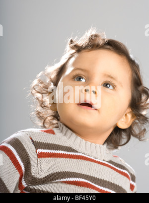 18 month old Toddler - Stock Photo