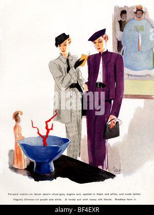 Women's fashion, 1936 Stock Photo: 68846976