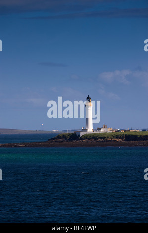 Lighthouse, Orkney Islands, Scotland, United Kingdom, Europe - Stock Photo