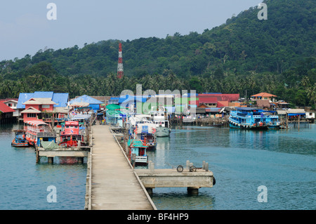Thailand; Trat Province; Koh Chang; Bangbao; - Stock Photo