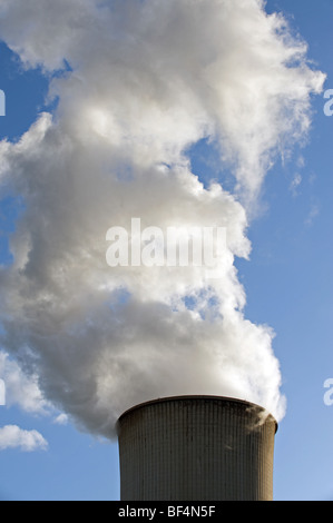 Coal-fired power station, Germany. - Stock Photo