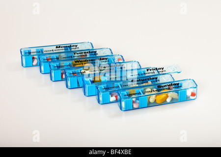 Pill Dispenser - Stock Photo