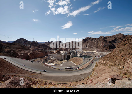 Hoover Dam, Nevada, Arizona, USA - Stock Photo