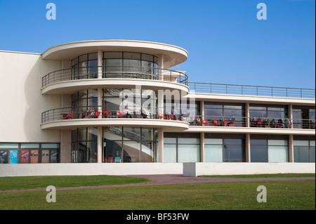 De La Warr Pavilion Bexhill on Sea East Sussex England UK - Stock Photo