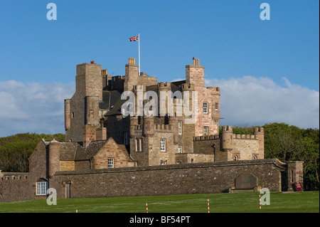 Castle of Mey, Caithness County, Scotland, United Kingdom, Europe - Stock Photo