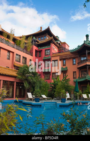 Phantasialand Hotel LING BAO, Bruehl, Nordrhein-Westfalen, Germany, Europe - Stock Photo