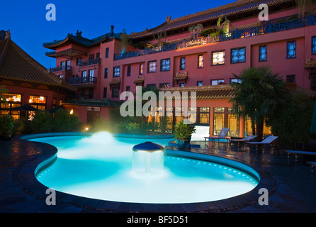 Phantasialand Hotel LING BAO, Bruehl, Nordrhein-Westfalen, Germany, Europe - Stock Photo