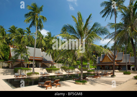 The Amanpuri Resort, Phuket Island, Thailand, Asia - Stock Photo