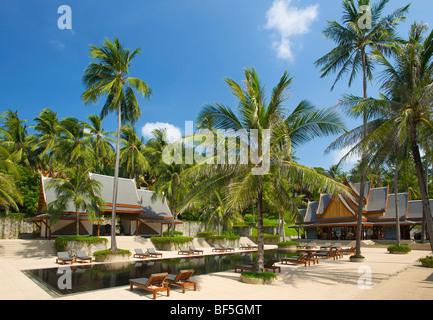 The Amanpuri Resort, Phuket Island, Thailand, Asia - Stock Photo