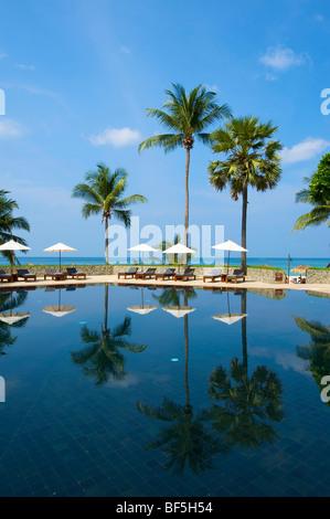 The Chedi Hotel on Pansea Beach, Phuket Island, Thailand, Asia - Stock Photo