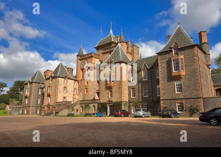 Thirlestane Castle, Lauder, Scotland - Stock Photo