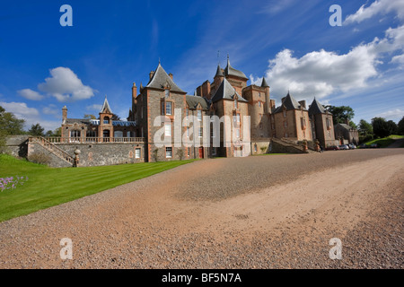 Thirlestane Castle, Lauder, Scotland - Stock Photo