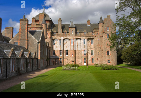 Thirlestane Castle from the south east - Stock Photo