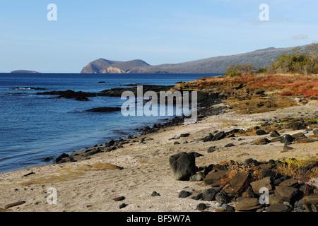 Puerto Egas Bay, Santiago Island, Galapagos Islands, Ecuador, South America - Stock Photo