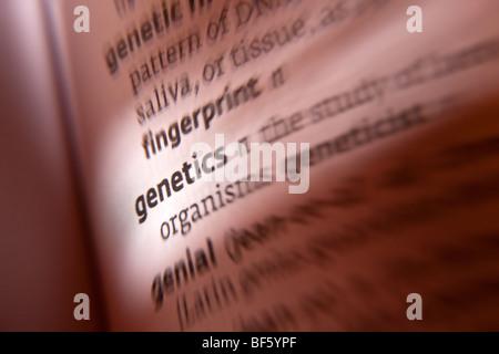 Genetics - Stock Photo