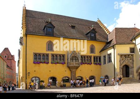 Deutschland, Regensburger Altstadt, Germany, Old Town of Regensburg - Stock Photo