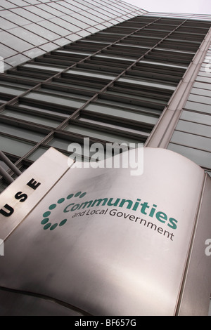 The Department for Communities and Local Government office at Eland House Victoria London - Stock Photo
