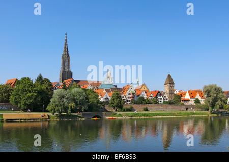 Deutschland, Stadtansicht von Ulm an der Donau, Germany Cityscape of Ulm at the Danube