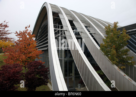 Paul Klee Museum, Zentrum Paul Klee, Bern - Stock Photo