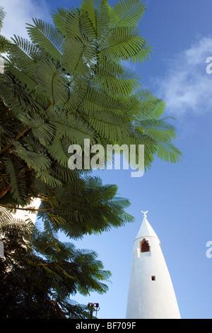 Mosque in Shela Village - Lamu Island, Kenya - Stock Photo