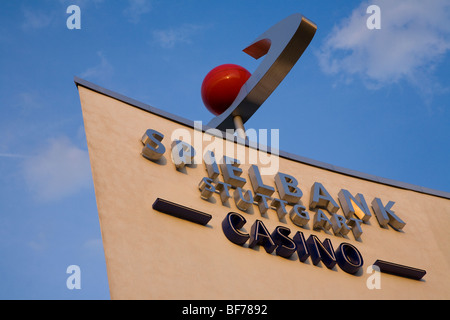 Casino near SI-Zentrum in Stuttgart, Baden-Wurttemberg, Germany - Stock Photo