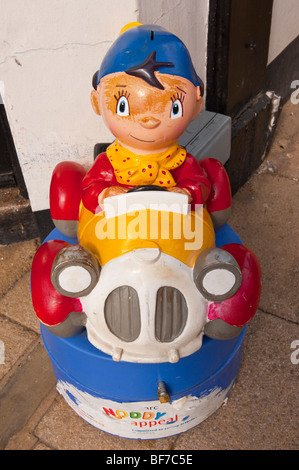 A charity box in aid of the Noddy appeal in the Uk - Stock Photo