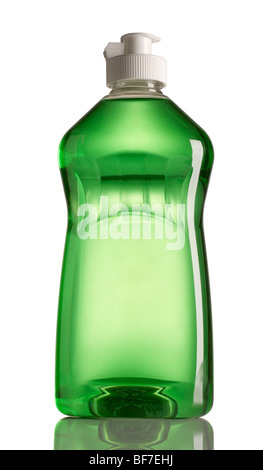 Plastic soap bottle - Stock Photo