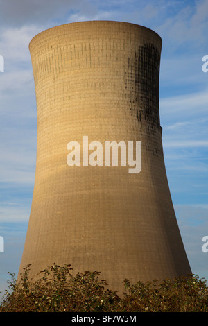 Cooling tower Billingham, Teeesside, UK - Stock Photo