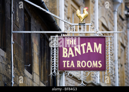 Bantam Tea Rooms, Chipping Campden, Gloucestershire, UK - Stock Photo