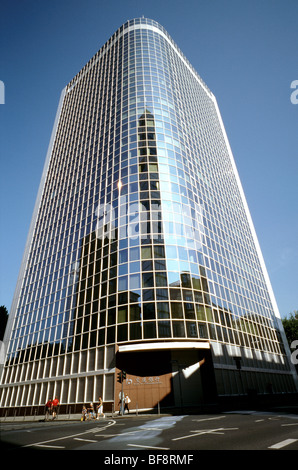 Aug 15, 2009 - German head office of the Chinese Bank of Communications in Frankfurt am Main. - Stock Photo