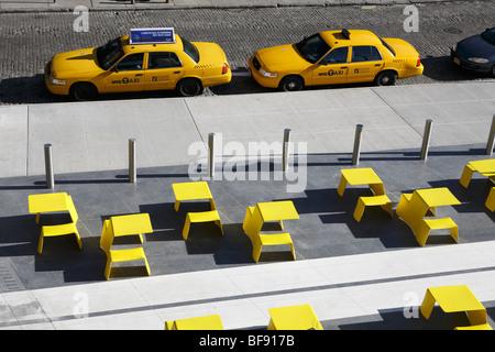 New York Taxi cab - Stock Photo