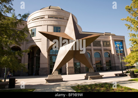 Bob Bullock Texas State History Museum in Austin, Texas, USA - Stock Photo