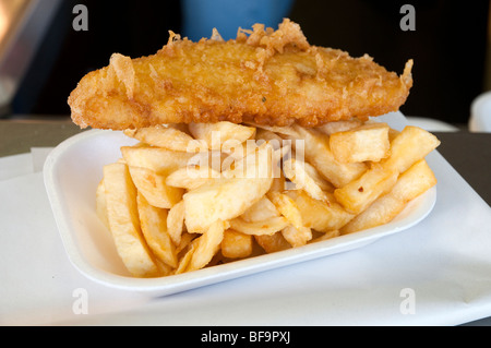 Fish and chips, UK - Stock Photo