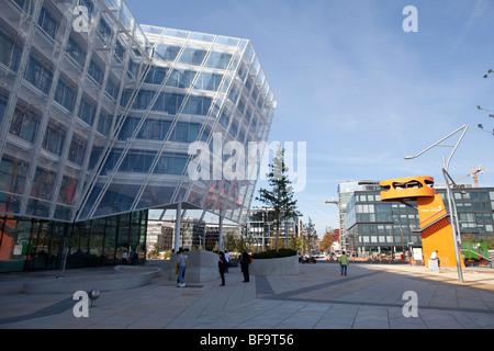 New Unilever European Headquarter in Hamburg, Germany - Stock Photo