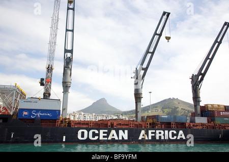 Ocean Africa - Stock Photo