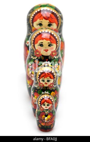 Russian Nesting Dolls -  Matryoshki - Stock Photo