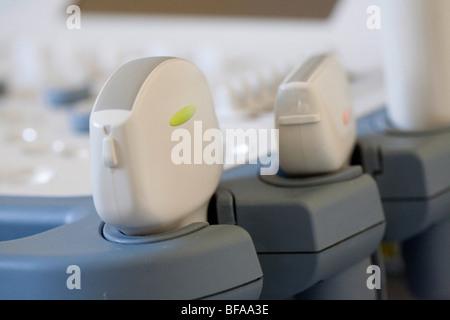 Ultrasound transducers. - Stock Photo