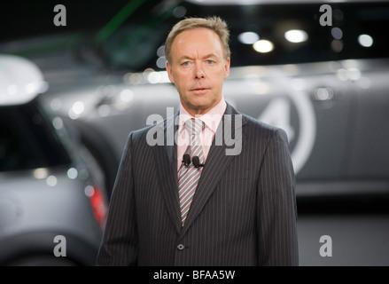 Ian ROBERTSON, Mitglied des Vorstands der BMW AG - Stock Photo