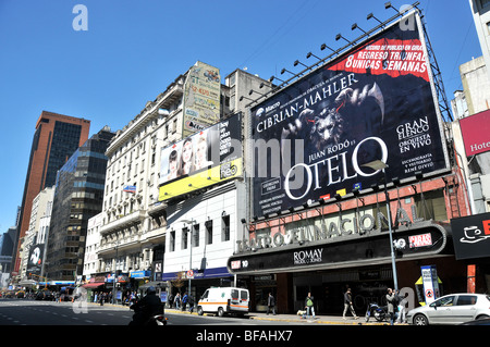 street scene, Lavalle, Buenos Aires, Argentina - Stock Photo