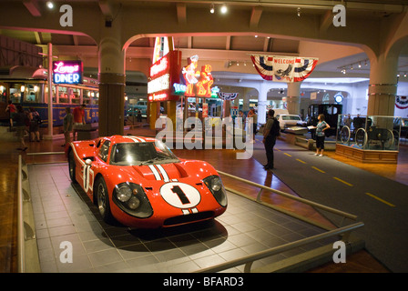 The Henry Ford Museum, Dearborn, Michigan, United States of America - Stock Photo