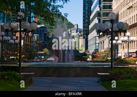 Place Ville Marie Montreal Canada - Stock Photo