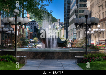 Place Ville Marie Downtown Montreal Canada - Stock Photo