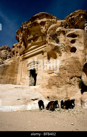 Al-Beidha, Little Petra, Jordan - Stock Photo