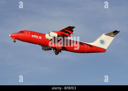 Efly British Aerospace 146-300 - Stock Photo