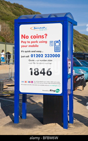 Bournemouth Car Park Pay By Phone