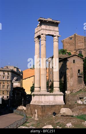 italy, rome, temple of apollo sosianus - Stock Photo