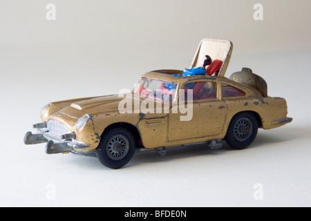 Corgi James Bond Aston Martin DB5 Car - Stock Photo