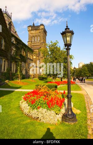 University College, University of Toronto, Ontario, Canada - Stock Photo