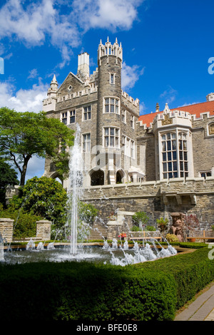 Casa loma toronto canada stock photo royalty free image for Casa loma mansion toronto
