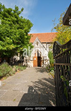 St James the Less Church, Pangbourne, Reading, Berkshire, UK - Stock Photo